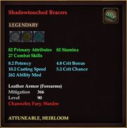 Shadowtouched Bracers