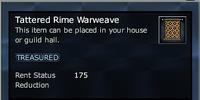 Tattered Rime Warweave