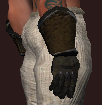 Legionnaire's Gauntlets of Defending (Equipped)