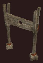 Blackhearted-stockade