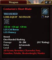 Centurion's Short Blade