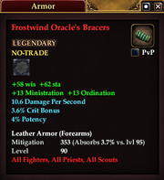 Frostwind Oracle's Bracers