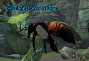 A honeybrood stinger