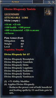 Divine Rhapsody Tonlets