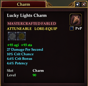 Lucky Lights Charm