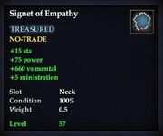 Signet of Empathy
