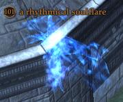 A rhythmical soulflare