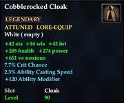 Cobblerocked Cloak