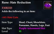 Rune- Hate Reduction