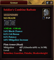 Soldier's Combine Barbute