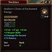 Stalker's Chain of Enchanted Energy