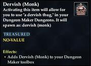 Dervish (Monk)