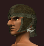 Tanned Leather Skull Cap (Equipped)