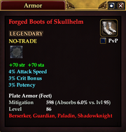 Forged Boots of Skullhelm
