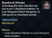 Boarfiend (Monk)