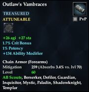 Outlaw's Vambraces