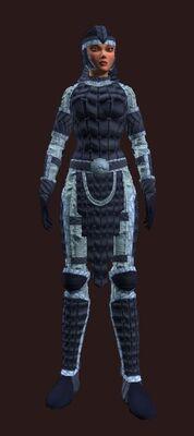 Steppes bear (Armor Set) (Visible, Female)