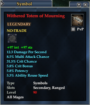 Withered Totem of Mourning