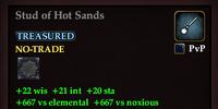Stud of Hot Sands