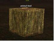 Animal feed