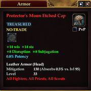 Protector's Moon Etched Cap