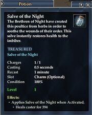 Salve of the Night