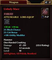 Unholy Mace (90)