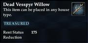 Dead Vesspyr Willow