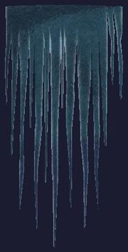 Dramatic icicles (Visible)