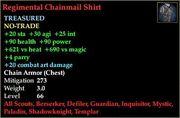 Regimental Chainmail Shirt