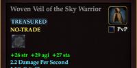 Woven Veil of the Sky Warrior