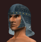Blue Helm of the Far Seas Traders (Equipped)