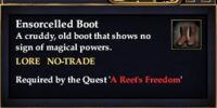 Ensorcelled Boot