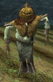 Race scarecrow