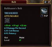 Balthazen's Belt