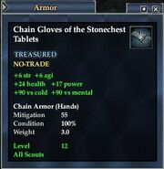 Chain Gloves of the Stonechest Tablets