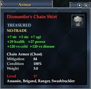 Dismantler's Chain Shirt