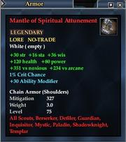 Mantle of Spiritual Attunement
