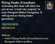 Flying Snake (Guardian)