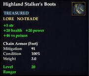 Highland Stalker's Boots