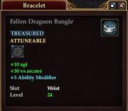Fallen Dragoon Bangle