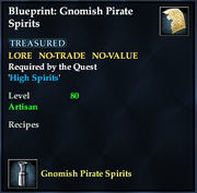 Blueprint- Gnomish Pirate Spirits