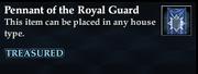 Pennant of the Royal Guard