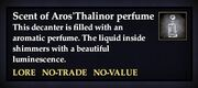 Scent of Aros'Thalinor perfume
