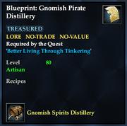Blueprint- Gnomish Pirate Distillery