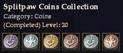 CQ coins splitpaw Journal