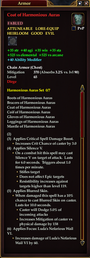 Coat of Harmonious Auras