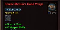 Serene Mentor's Hand Wraps