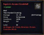 Squire's Arcane Greatstaff