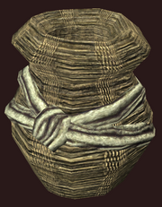 Woven Basket of Coin (Visible)